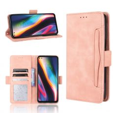 LN 5card Flip Wallet Moto G 5G Plus pink