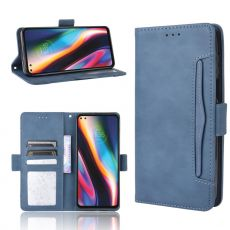 LN 5card Flip Wallet Moto G 5G Plus blue