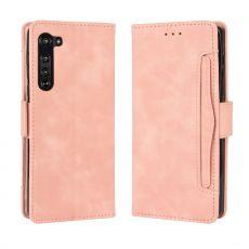 LN 5card Flip Wallet Motorola Edge pink