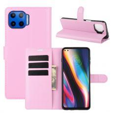LN Flip Wallet Moto G 5G Plus pink
