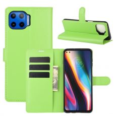 LN Flip Wallet Moto G 5G Plus green