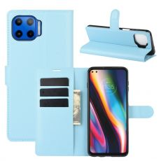 LN Flip Wallet Moto G 5G Plus blue
