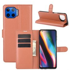 LN Flip Wallet Moto G 5G Plus brown