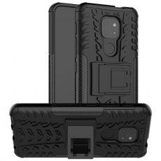 LN kuori tuella Moto G9 Play black