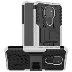 LN kuori tuella Moto G9 Play white