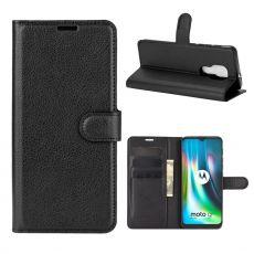 LN Flip Wallet Moto G9 Play Black
