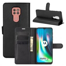 LN Flip Wallet Moto G9 Play Black