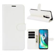 LN Flip Wallet Moto G9 Play White