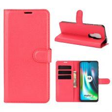 LN Flip Wallet Moto G9 Play Red