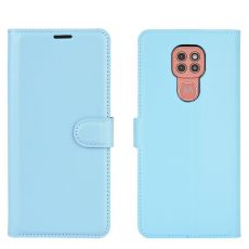 LN Flip Wallet Moto G9 Play Blue