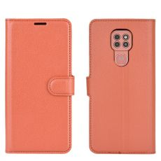 LN Flip Wallet Moto G9 Play Brown