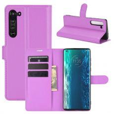 LN suojalaukku Motorola Edge purple