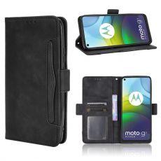 LN Flip Wallet 5card Moto G9 Power Black