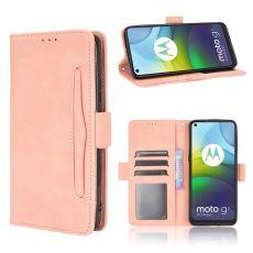 LN Flip Wallet 5card Moto G9 Power Pink