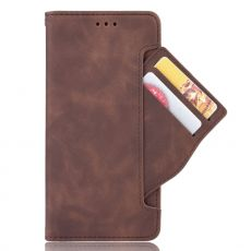 LN Flip Wallet 5card Moto G9 Power Brown