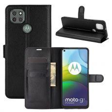 LN Flip Wallet Moto G9 Power Black