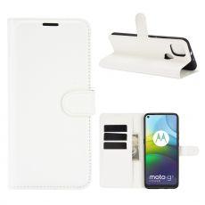 LN Flip Wallet Moto G9 Power White