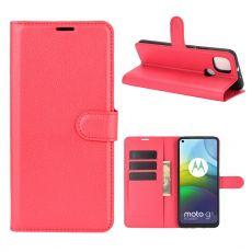 LN Flip Wallet Moto G9 Power Red