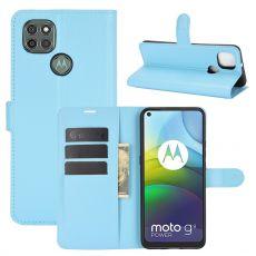 LN Flip Wallet Moto G9 Power Blue