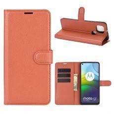 LN Flip Wallet Moto G9 Power Brown