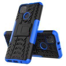 LN kuori tuella Moto G9 Power Blue