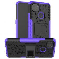 LN kuori tuella Moto G9 Power Purple