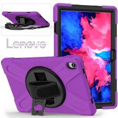 LN suojakuori+hihna Lenovo Tab P11 purple