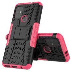 LN kuori tuella Moto G30 pink