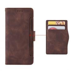LN 5card Flip Wallet Moto G100 brown