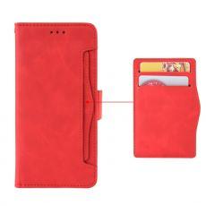 LN 5card Flip Wallet Moto G100 red