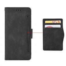 LN 5card Flip Wallet Moto G100 black