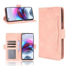 LN 5card Flip Wallet Moto G100 pink