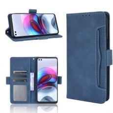 LN 5card Flip Wallet Moto G100 blue