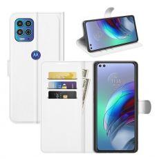 LN Flip Wallet Moto G100 white