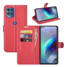 LN Flip Wallet Moto G100 red