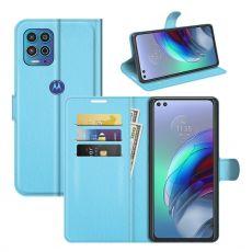LN Flip Wallet Moto G100 blue
