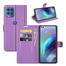 LN Flip Wallet Moto G100 purple