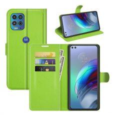 LN Flip Wallet Moto G100 green
