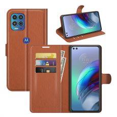LN Flip Wallet Moto G100 brown
