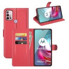 LN Flip Wallet Moto G10/G30 red