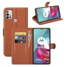 LN Flip Wallet Moto G10/G30 brown