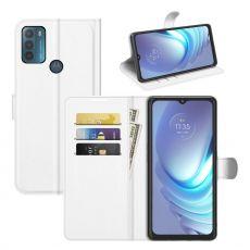 LN Flip Wallet Motorola Moto G50 white