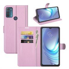 LN Flip Wallet Motorola Moto G50 pink