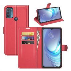 LN Flip Wallet Motorola Moto G50 red