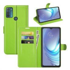 LN Flip Wallet Motorola Moto G50 green