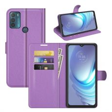 LN Flip Wallet Motorola Moto G50 purple