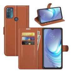 LN Flip Wallet Motorola Moto G50 brown