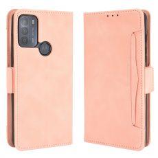 LN 5card Flip Wallet Motorola Moto G50 pink