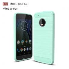 Luurinetti Moto G5 Plus TPU-suoja cyan