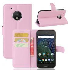 Luurinetti Moto G5 Plus suojalaukku pink